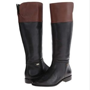 Cole Haan Leather Primrose Riding Boots - Size 7